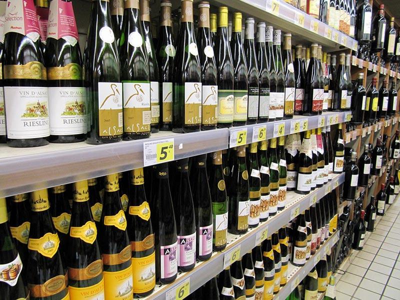 יינות בסופר. תמונה: notfrancois